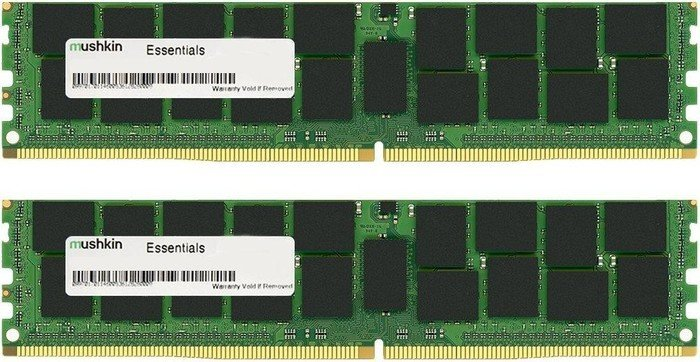 Mushkin Essentials DIMM Kit 8GB, DDR4-2400, CL17-17-17-39 (MES4U240HF4GX2)