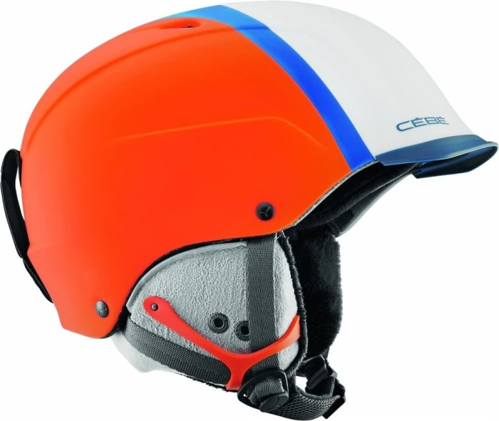 Cébé Contest Visor Pro Helm matt orange/blue/petrol (CBH264/CBH265/CBH266)