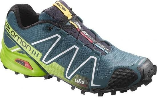 Salomon Speedcross 3 cobalt blue/granny green/black (mens) (370762)