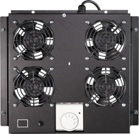 """LogiLink Canovate 19"""" roof fan tray black, fan module, 4 fan (FAS122B)"""