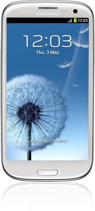 Samsung Galaxy S3 i9300 16GB white -- (c) computerbase.de