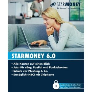 Star Finanz: StarMoney 6.0 (German) (PC)