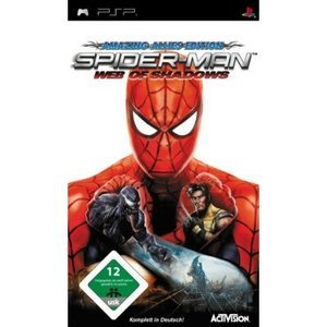 Spiderman - Web of Shadows (englisch) (PSP)