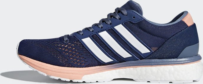 adidas Damen Adizero Boston 6 Traillaufschuhe, Blau (Indnob/Ftwbla/Acenat 000), 36 2/3 EU