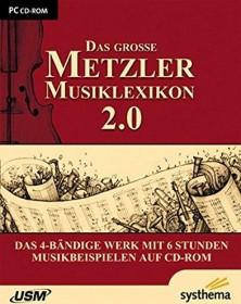 USM The big Metzler Musiklexikon 2.0 (German) (PC)