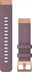 Garmin Ersatzarmband QuickFit 20 Nylon lila/rosegold (010-12873-00)