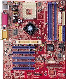 Biostar M7NCD Pro, nForce2 Ultra 400 (dual PC-3200 DDR)