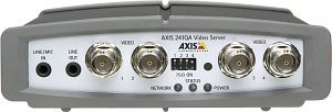 Axis 241QA video server 4-port, audio (0230-002)