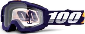 100% Accuri Goggle grib/clear lens (50200-284-02)