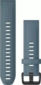 Garmin Ersatzarmband QuickFit 20 Silikon taubenblau/schwarz (010-12870-00)