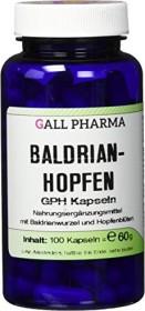 valerian-hops GPH capsules, 100 pieces