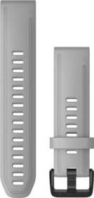 Garmin Ersatzarmband QuickFit 20 Silikon hellgrau (010-12866-00)