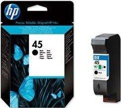 HP 45 Druckkopf mit Tinte schwarz 21ml (51645GE)