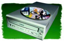 Yamaha CRW-8424SX-VK (extern) mit Software