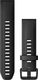 Garmin Ersatzarmband QuickFit 20 Silikon schwarz (010-12867-00)