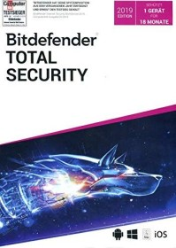 Softwin BitDefender total Security 2019, 1 User, 18 months (German) (Multi-Device)