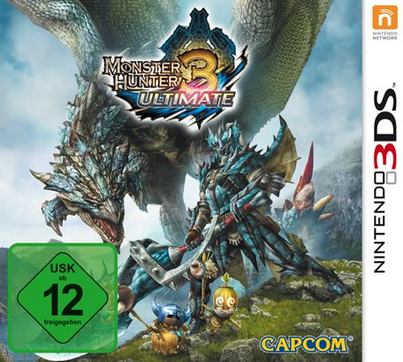 monster Hunter 3 Ultimate (German) (3DS)