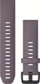 Garmin Ersatzarmband QuickFit 20 Silikon violett/schwarz (010-12871-00)