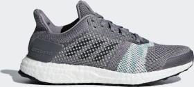 adidas Ultra Boost ST grey/crystal white/core black/aero green (Damen) (CQ2136)