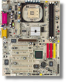 Soltek SL-85DR3, i845PE (PC-2700 DDR)