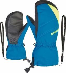 Ziener Agilo AS Mitten Skihandschuhe poison yellow/persian blue (Junior) (801906-798737)