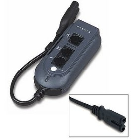 Belkin travelling overvoltage protection for notebooks [C8-plug with 2 pens] (F5C791eaC8)