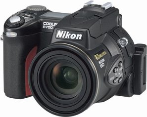 Nikon Coolpix 8700 schwarz (VAA260EA)