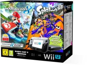 Nintendo Wii U Premium pack - 32GB Mario Kart 8 & Splatoon Bundle black