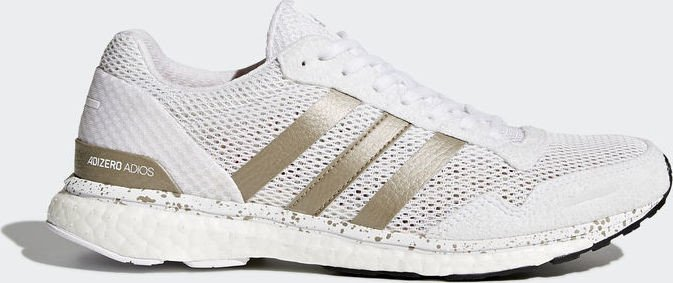 size 40 48f75 e0433 adidas adizero Adios 3 ftwr whitecyber metalliccore black (Damen) (