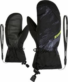 Ziener Agilo AS Mitten Skihandschuhe black mountain/camo black (Junior) (801906-12110)