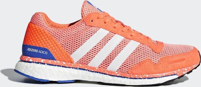 purchase cheap 675f9 e48f8 adidas adizero Adios 3 chalk coralftwr whiteorange (Damen) (BB6408