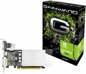 Gainward GeForce GT 610 SilentFX, 1GB DDR3, VGA, DVI, HDMI (2654)