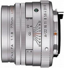 Pentax smc FA 77mm 1.8 Limited silber (27970/27980)