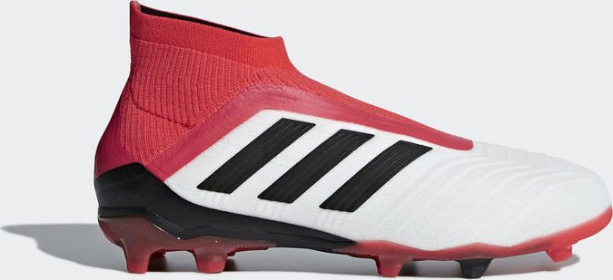 18e13830f4d2 adidas Predator 18+ FG ftwr white core black real coral (Junior ...