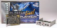 Creative Sound Blaster Live! Platinum, bulk/OEM