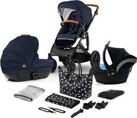Kinderkraft Prime 3in1 Kombi-Kinderwagen deep navy 2020