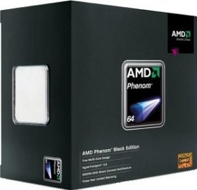 AMD Phenom X4 9600 Black Edition, 4C/4T, 2.30GHz, boxed (HD960ZWCGDBOX)