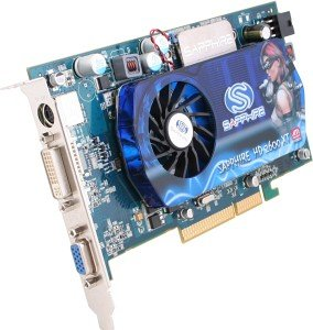 Sapphire Radeon HD 2600 XT, 512MB GDDR3, 2x DVI, TV-out, AGP, bulk/lite retail (11118-01-10/-20)