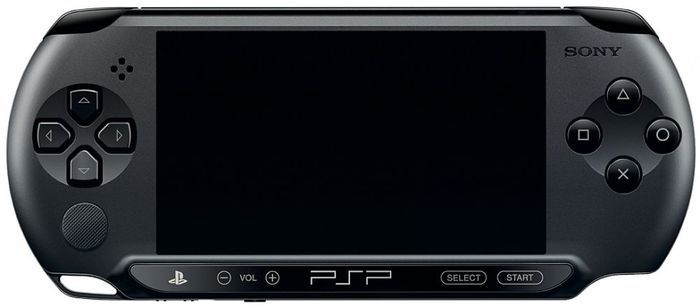 Sony Playstation portable E1004, black