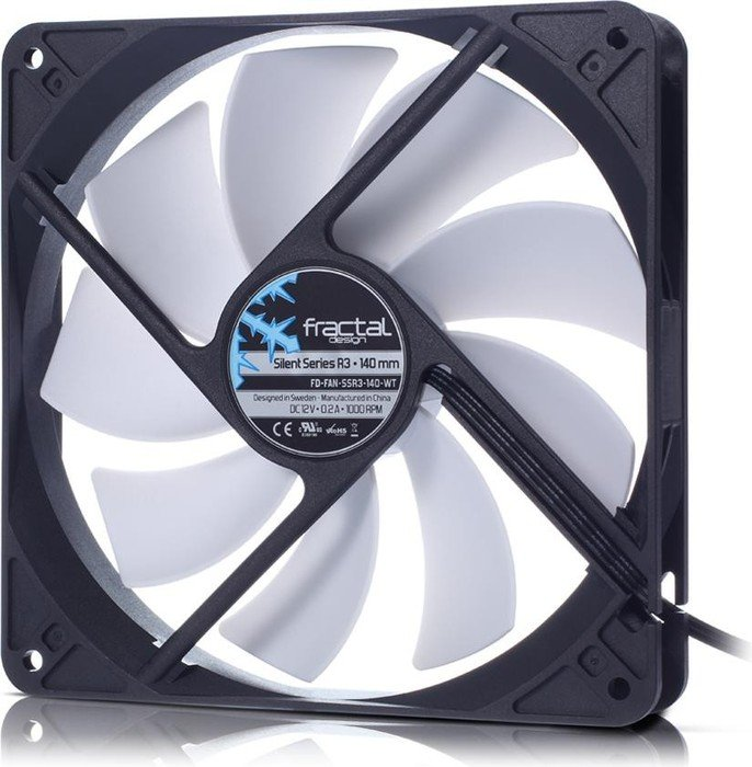 Fractal Design Silent R3, 140mm (FD-FAN-SSR3-140)