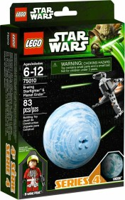 LEGO Star Wars Buildable Galaxy - B-wing Starfighter & Planet Endor (75010)