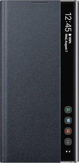 Samsung Clear View Cover für Galaxy Note 10+ schwarz (EF-ZN975CBEGWW)