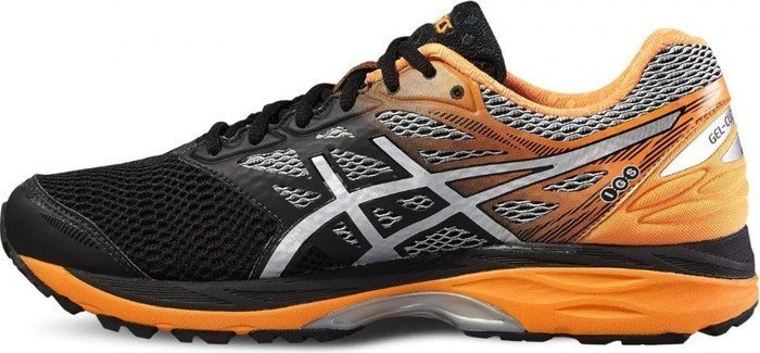 Asics Gel-Cumulus 18 GTX black/silver/hot orange (Herren) (T6D3N-9093)