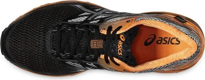 Asics Gel Cumulus 18 GTX blacksilverhot orange ab € 149,99