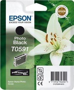 Epson Tinte T0591 schwarz photo (C13T05914010)