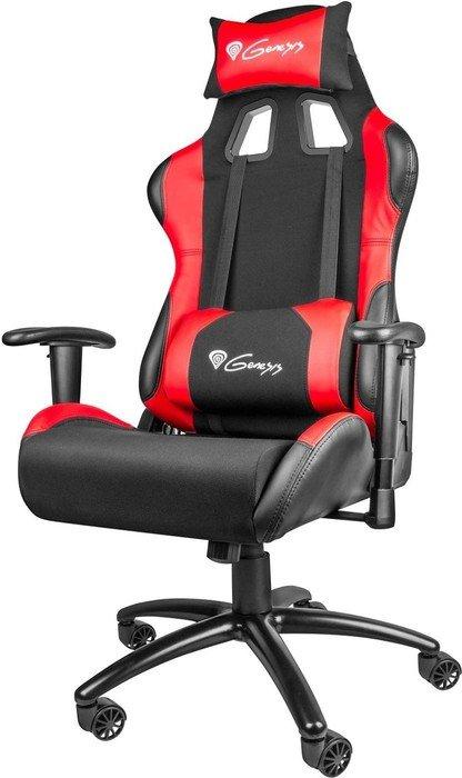 Genesis Nitro 550 gaming chair, black/red (NFG-0784)