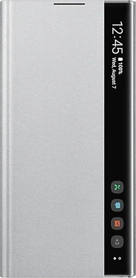 Samsung Clear View Cover für Galaxy Note 10+ silber (EF-ZN975CSEGWW)