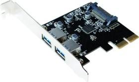 LogiLink 2x USB-A 3.1, PCIe 2.0 x2 (PC0080)