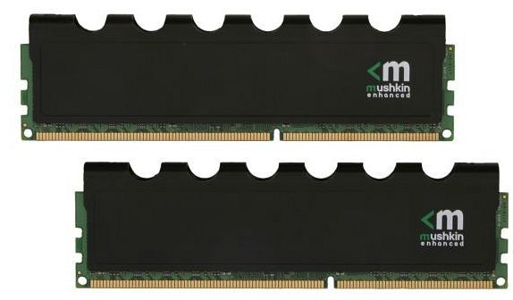 Mushkin Enhanced Blackline Frostbyte DIMM Kit   8GB, DDR3-1600, CL9-9-9-24 (996995)