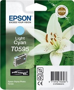 Epson T0595 Tinte cyan hell (C13T05954010)